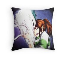 Spirited Away - Chihiro & Haku Throw Pillow