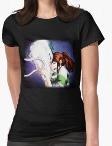 Spirited Away - Chihiro & Haku Womens Fitted T-Shirt