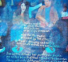 Blues Bar Poets by Pinkham