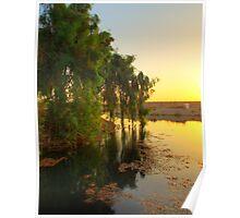 Morning Light - Baghdad Sunrise Poster