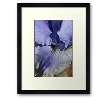 Blue Tone Framed Print