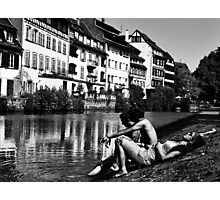 Intermission - Strasbourg, France Photographic Print
