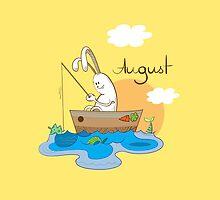 August. by Voron4ihina