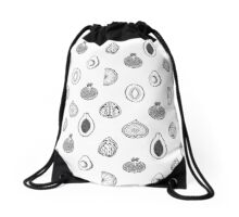 Fruits Pattern Drawstring Bag