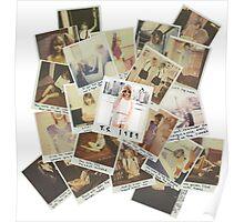 T.S Polaroid Poster