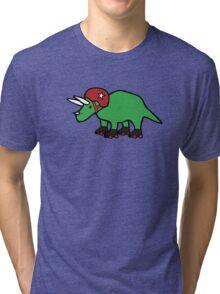 Roller Derby Triceratops Tri-blend T-Shirt