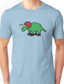 Roller Derby Triceratops Unisex T-Shirt