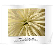 Vanilla Fingers Poster