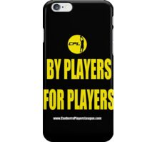 CPL - By Players For Players 2 iPhone Case/Skin