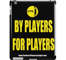 CPL - By Players For Players 2 iPad Case/Skin