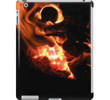 Macro Flame iPad Case/Skin