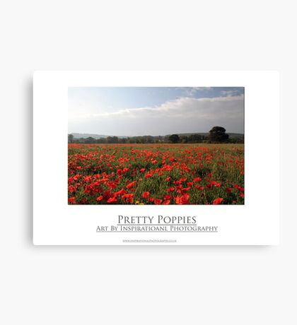Pretty Poppies Canvas Print
