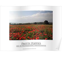 Pretty Poppies Poster