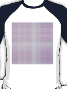 Lilac-Rose Plaid T-Shirt