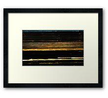 sheet music for mystics Framed Print