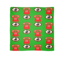 Eye Phone T-shirt Design Scarf