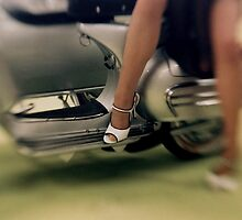 High Heel Vespa by Jane Linders