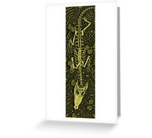 Ethereal Reptile Greeting Card