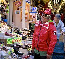 Asakusa Salesman  by Kate  B