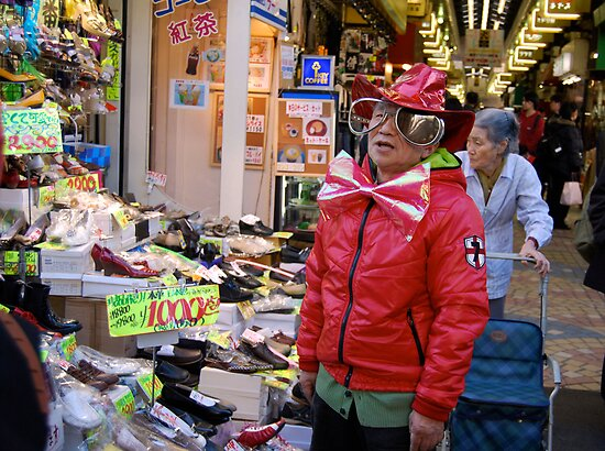 Asakusa Salesman  by Kate Pudim - Ingenue Photography