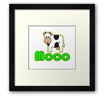 MOOOO Framed Print