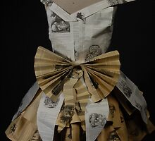 Behind alice in wonderland dress by cottonfields90