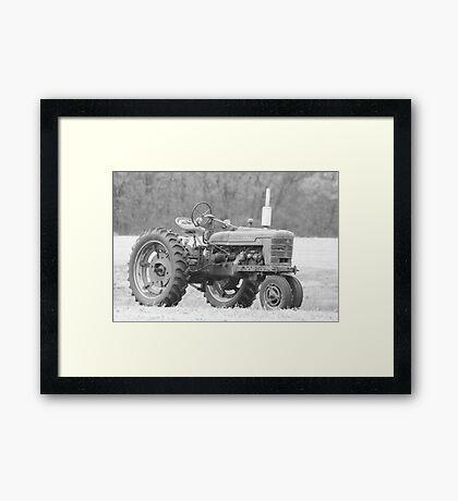 The Ol' Mule Framed Print