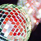Christmas Glitter Ball by Lynn Ede