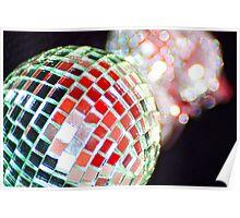 Christmas Glitter Ball Poster