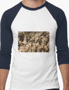 The Trees Are A-Rockin ©  Men's Baseball ¾ T-Shirt
