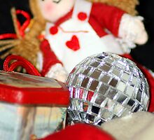 Old Toys at Christmas by Lynn Ede