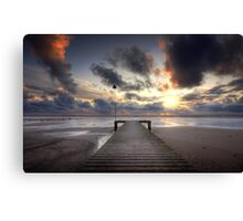 Sea Scale Beach Canvas Print