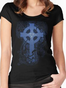 CELTIC NIGHT Women's Fitted Scoop T-Shirt