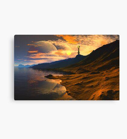 Qualar's Sun Canvas Print