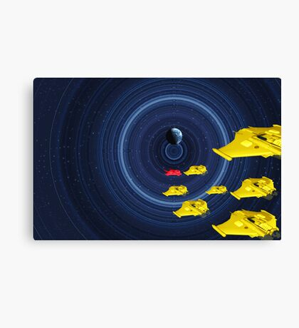 Guardian at the Wheel of Time Canvas Print