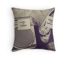 Melodies O'ya Throw Pillow