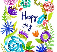 Watercolor floral01 by OlgaBerlet