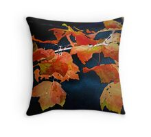 A Burst of Fall Color Throw Pillow