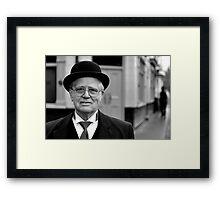 Bank Manager Framed Print