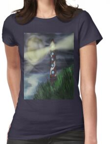 Lighthouse Light Womens Fitted T-Shirt