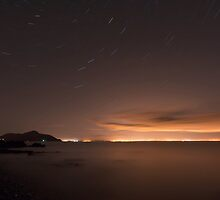 Star trails by Andy Surridge