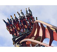 Nemesis Inferno - Hang on !!!  Photographic Print