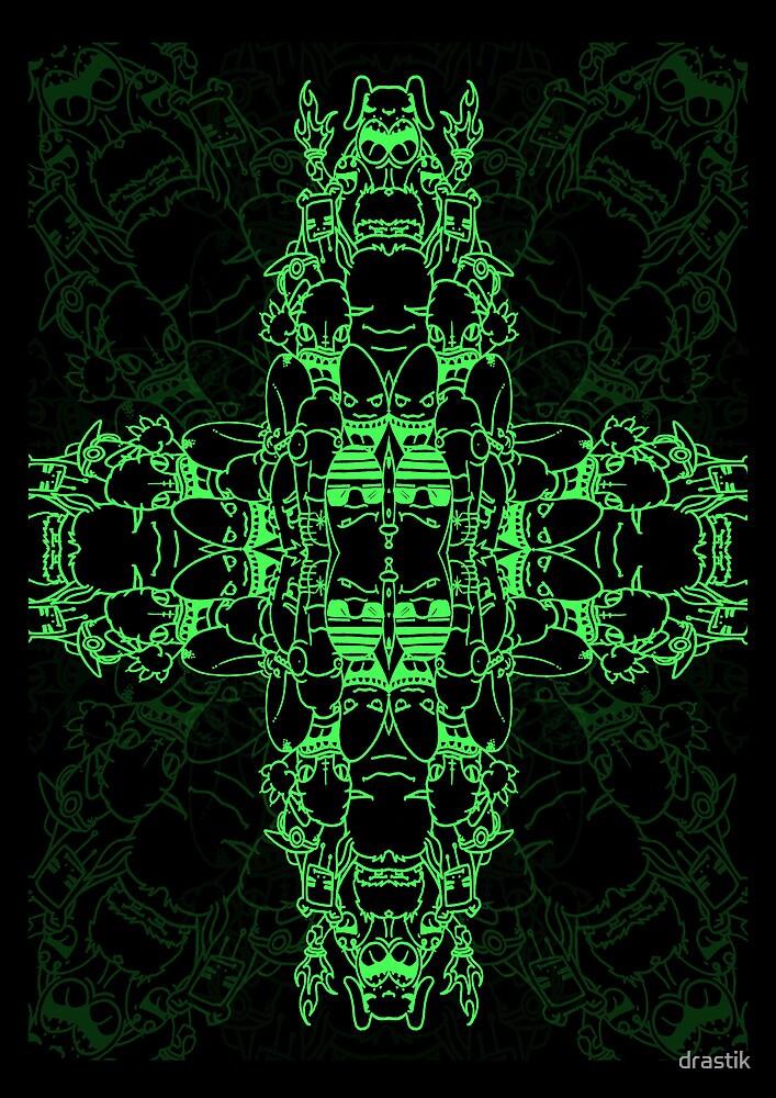 Matrix Characters by drastik