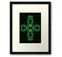 Matrix Characters Framed Print