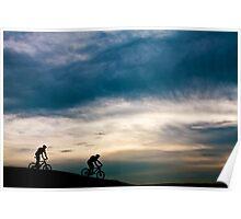 Hillside Cycling Poster
