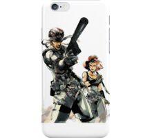 metal gear solid snake  iPhone Case/Skin