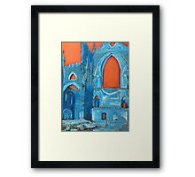 """ruin"" by Terri Waterman Framed Print"
