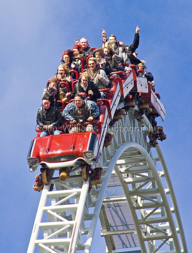 Stealth On Top - Thorpe Park by Colin  Williams Photography
