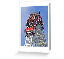 Stealth On Top - Thorpe Park Greeting Card