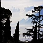 idylic lake garda by Ilapin